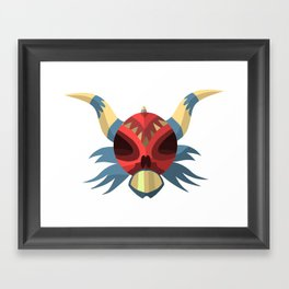 PriMoNs Mask - 001 Framed Art Print