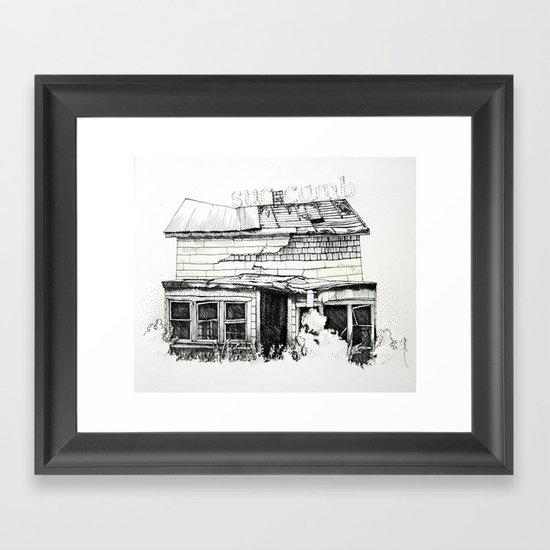 Succumb Framed Art Print