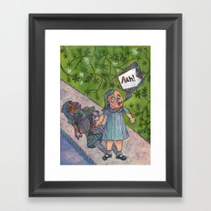 Picasso-ized Framed Art Print