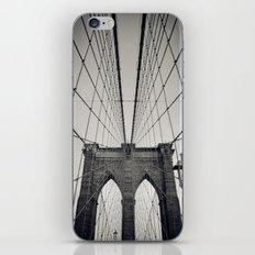 Brooklyn Bridge B/W | New York City iPhone & iPod Skin