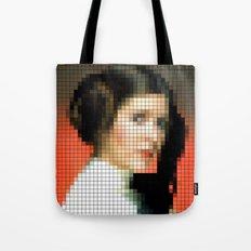 Princess with gun Tote Bag