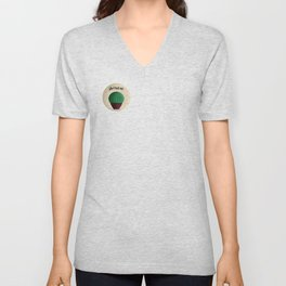 Cactus quote don't touch me! Unisex V-Neck