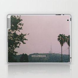 Rainy Hollywood - a rare sight Laptop & iPad Skin