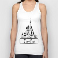 florida Tank Tops featuring Florida by Harkiran Kalsi