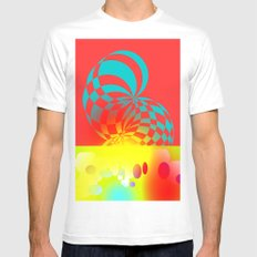 Twisted Invert Mens Fitted Tee White MEDIUM