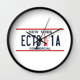 Ecto-1A Wall Clock