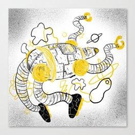 Le Robot Canvas Print