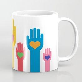 no to racism Coffee Mug
