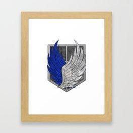 Attack on Titan; Scout Regiment Framed Art Print
