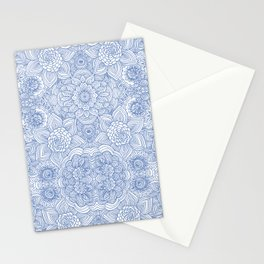 Indira Periwinkle Stationery Cards