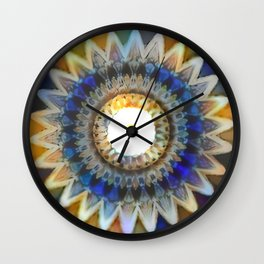 Oddity Recolored Mandala Wall Clock