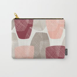 Abstract Vases Carry-All Pouch