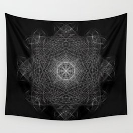 Cosmic Cymatics Mandala Wall Tapestry