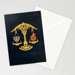 Ul'dha Flag - The Immortal Flames ( FFXIV) Stationery Cards