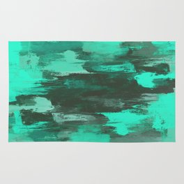 Chill Factor - Abstract in blue Rug