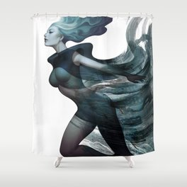 City of Charm Shower Curtain