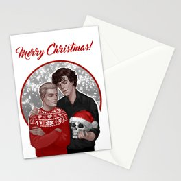 Merry Christmas Johnlock Stationery Cards