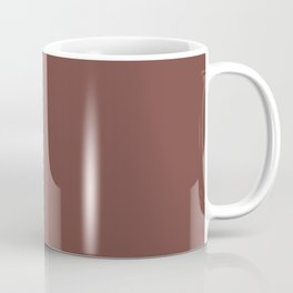 Dunn & Edwards 2019 Trending Colors Rocky Mountain Red DET442 Solid Color Coffee Mug