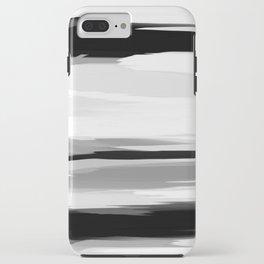 Soft Determination Black & White iPhone Case