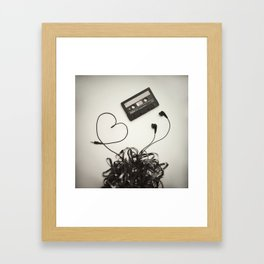 Feel the Music - 2 Framed Art Print