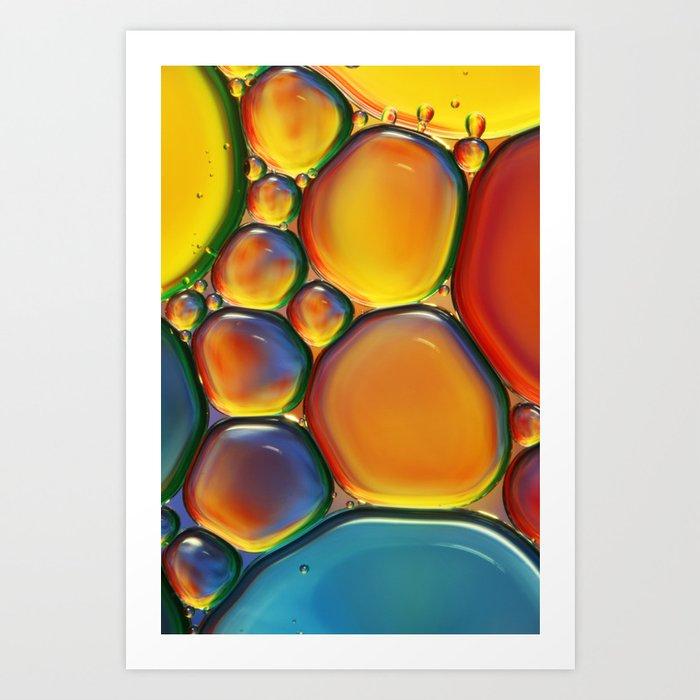 Tropical Oil & Water II Art Print