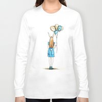 alice Long Sleeve T-shirts featuring alice by Beth Jorgensen