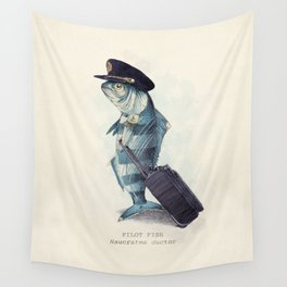 The Pilot Wall Tapestry