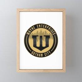 Wayne Enterprises Framed Mini Art Print