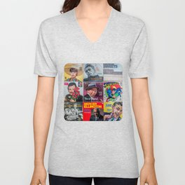 Old Records Unisex V-Neck