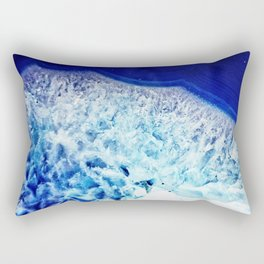 Gemstone Crystal Geode Rectangular Pillow
