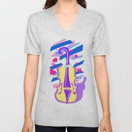 Cello Love Unisex V-Neck