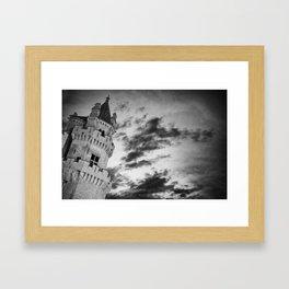 Olite castle (spain) Framed Art Print