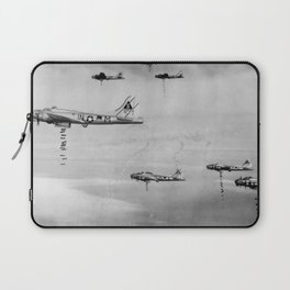 US Air Force Planes Dropping Bombs Over Germany - 1945 Laptop Sleeve