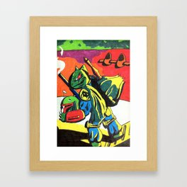 Bulba Fett Framed Art Print