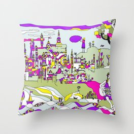 GREEK SPRING Throw Pillow