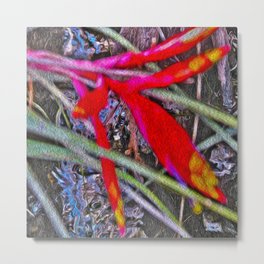 Bromeliad in the Cathedral Metal Print