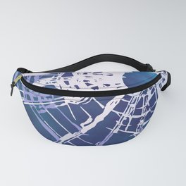 Shattered Galaxy Fanny Pack
