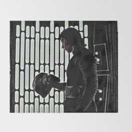 Kylo's Dark Side Throw Blanket