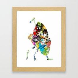 CutOuts - 1 Framed Art Print