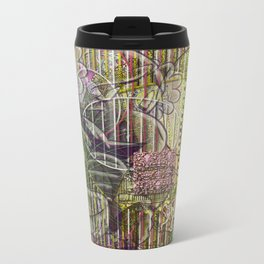 A Strict Code for Mourning Flowers (2) Metal Travel Mug