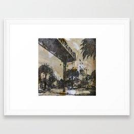 The Embarcadero on mylar  Framed Art Print