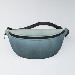 Into The Misty Nature - Turquoise II Fanny Pack