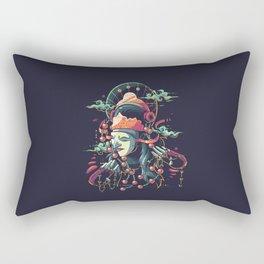 Tari Topeng Rectangular Pillow