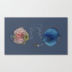 Paper Rock Scissors Canvas Print