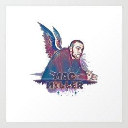 mac miller reaper Art Print