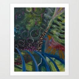 Undersea Tunnel Art Print