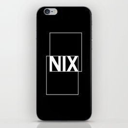 German Nihilism iPhone Skin