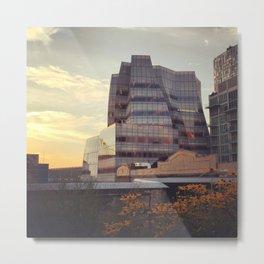 Chelsea New York Building Metal Print
