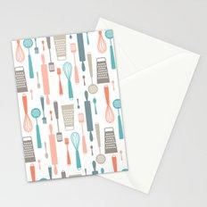 Kitchen utensils Stationery Cards