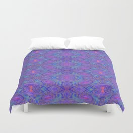 Subspace Currents Pattern Duvet Cover
